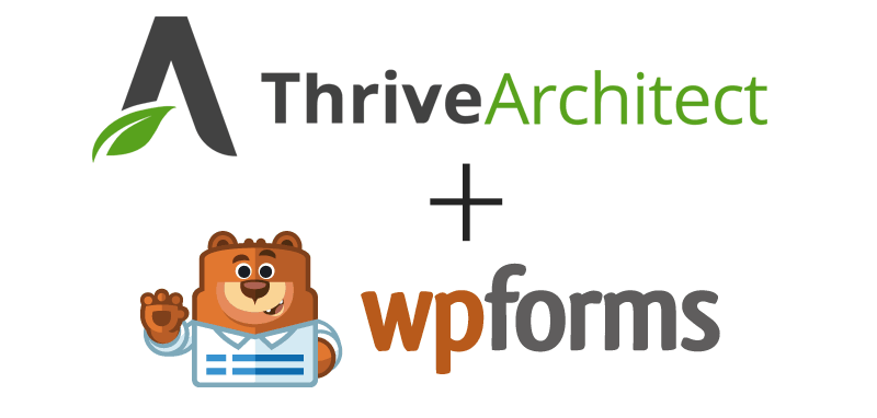 Thrive Architect and WPForms Integration