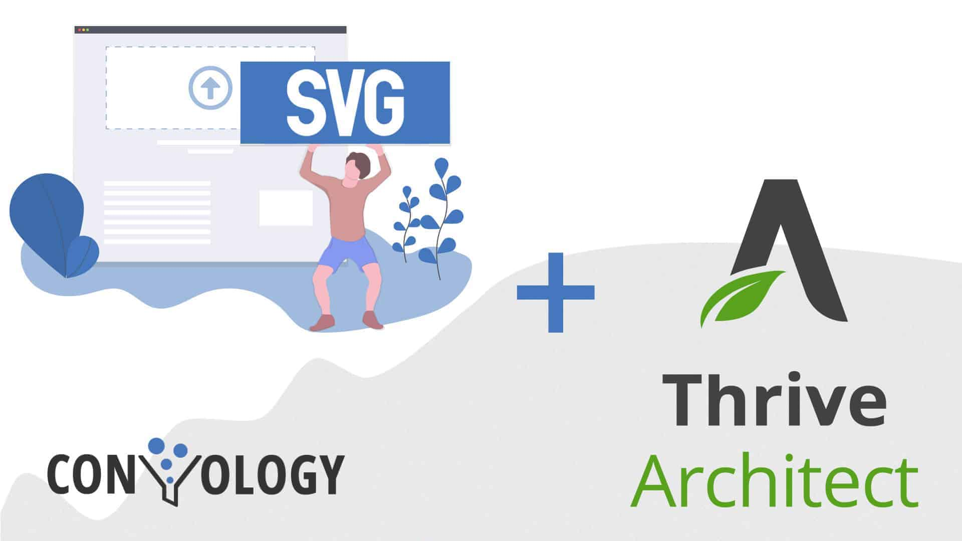 How to use SVG with Thrive Architect