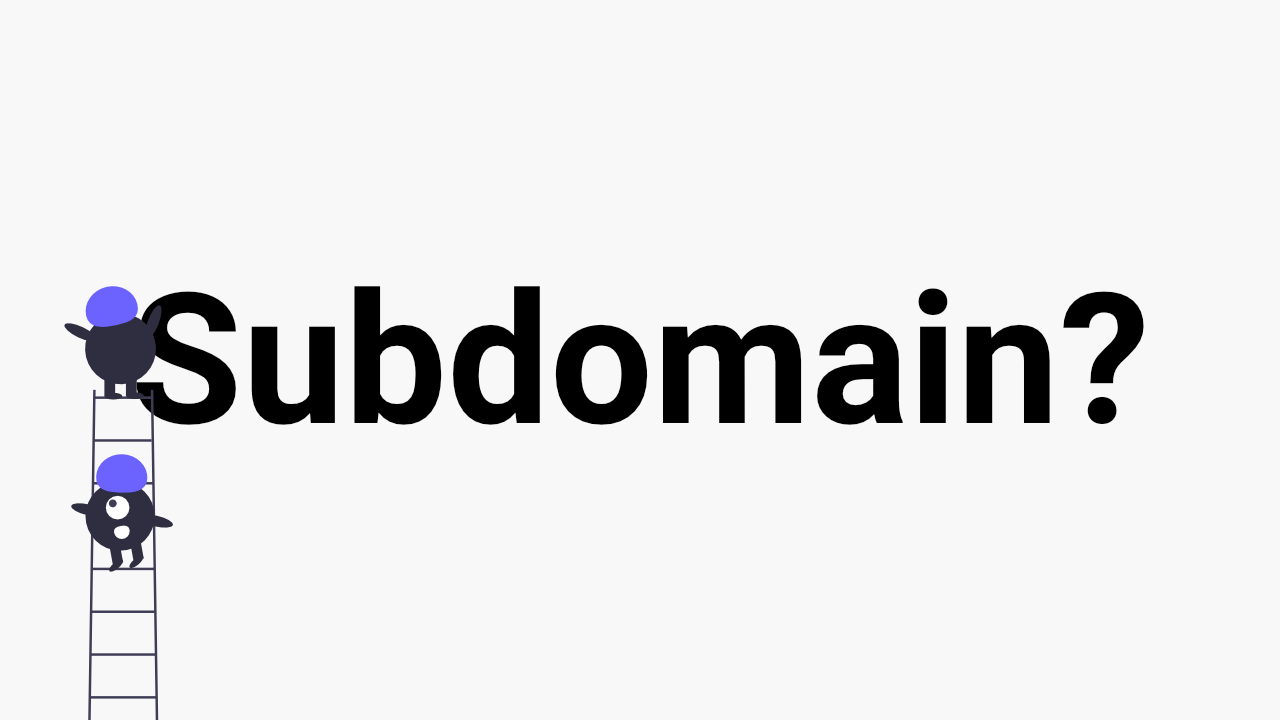 subdomain for membership and courses site